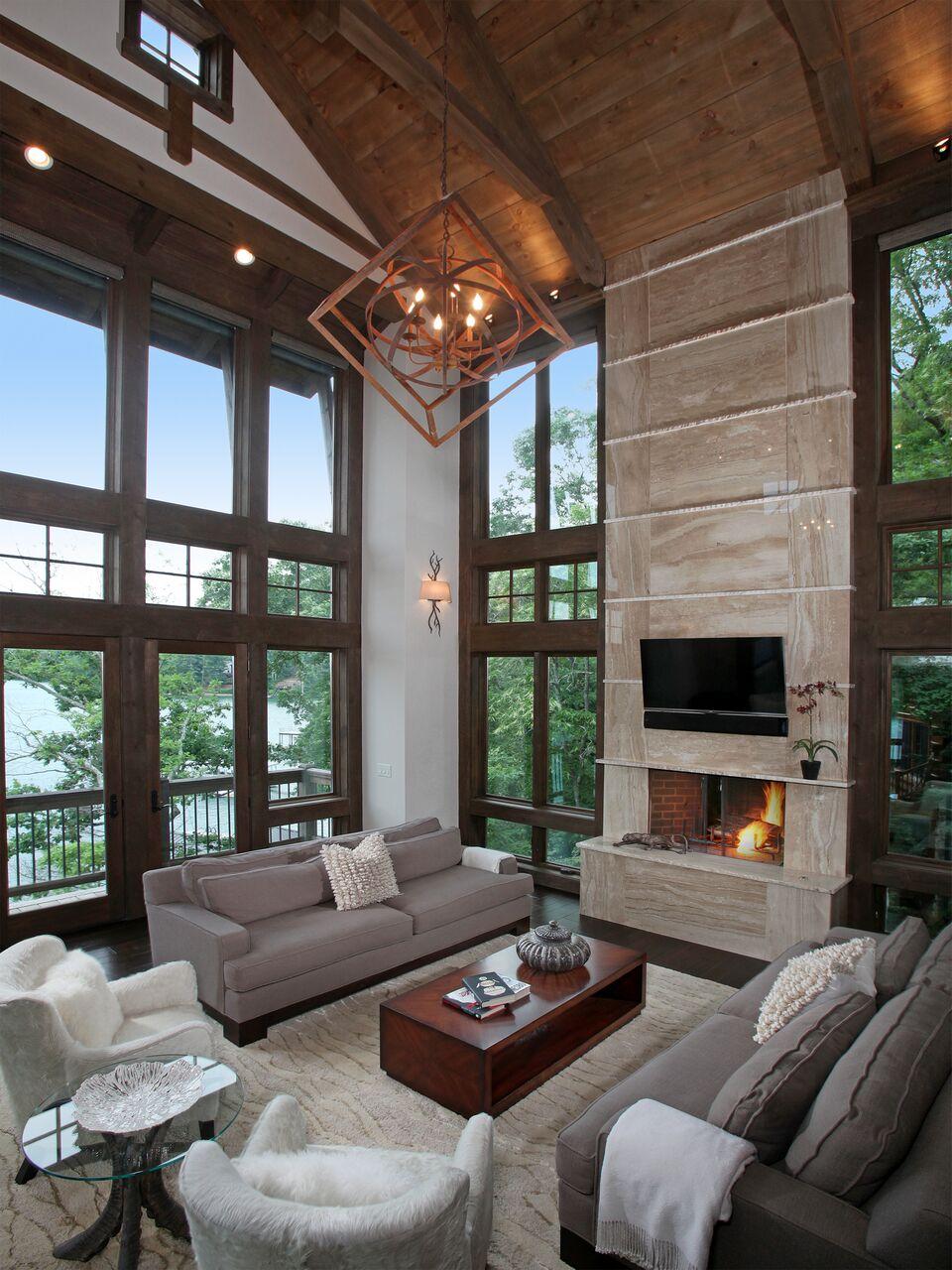 Lake Bluff Livingroom