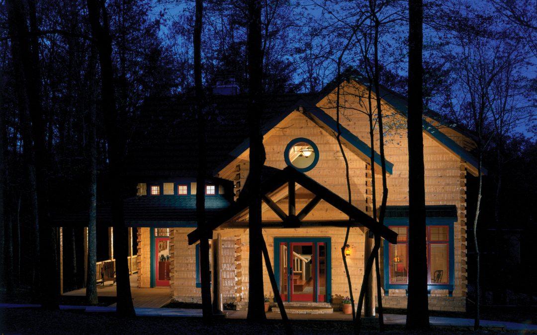 Log Rhythms Cabin